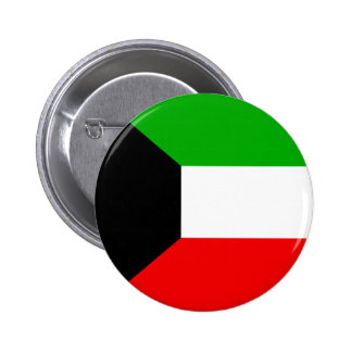 Kuwait Pinback Button