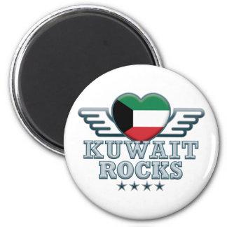 Kuwait Rocks v2 2 Inch Round Magnet