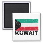 Kuwait Vintage Flag Magnets