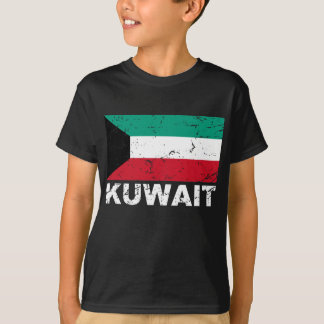 Kuwait Vintage Flag T-Shirt