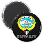 Kuwaiti Emblem Fridge Magnets