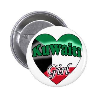 Kuwaiti Girl Pinback Button