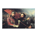 Kuzma Minin & Dmitry Pozharsky's National Gallery Wrap Canvas