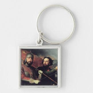 Kuzma Minin & Dmitry Pozharsky's National Keychain
