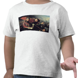 Kuzma Minin & Dmitry Pozharsky's National Tshirts
