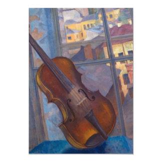 Kuzma Petrov-Vodkin - A Violin Card