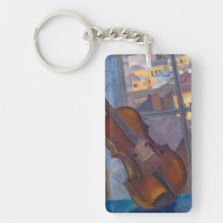Kuzma Petrov-Vodkin - A Violin Keychain
