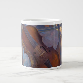 Kuzma Petrov-Vodkin - A Violin 20 Oz Large Ceramic Coffee Mug