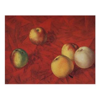 Kuzma Petrov-Vodkin- Apples Postcards