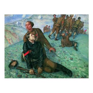 Kuzma Petrov-Vodkin- Death of Commissar Post Cards