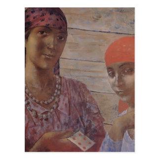 Kuzma Petrov-Vodkin- Gypsy Postcards