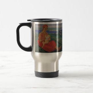 Kuzma Petrov-Vodkin- Mother 15 Oz Stainless Steel Travel Mug