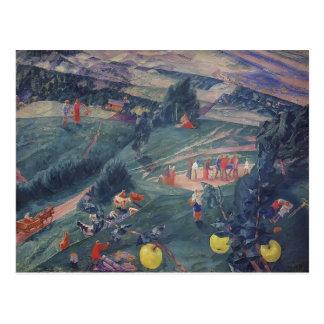 Kuzma Petrov-Vodkin- Noon Post Card