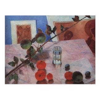 Kuzma Petrov-Vodkin- Pink Still Life Post Cards