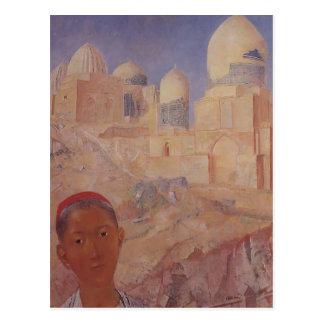 Kuzma Petrov-Vodkin- Shah-i-Zinda Post Cards