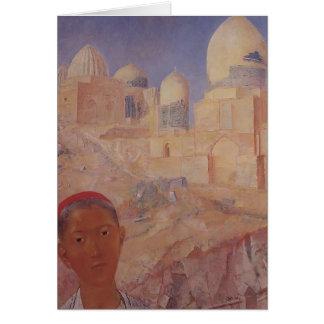 Kuzma Petrov-Vodkin Shah-i-Zinda Tarjeta
