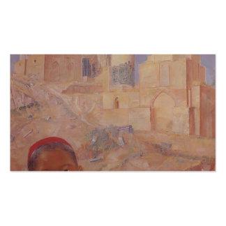Kuzma Petrov-Vodkin Shah-i-Zinda Tarjetas De Visita