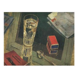 Kuzma Petrov-Vodkin- Still Life with Letters Postcard