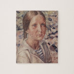 Kuzma Petrov-Vodkin- The girl on the beach Puzzle