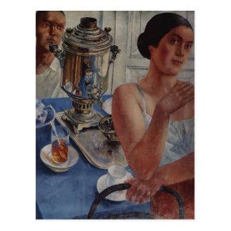 Kuzma Petrov-Vodkin- The samovar Postcard