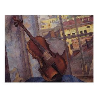 Kuzma Petrov-Vodkin- Violin Post Cards