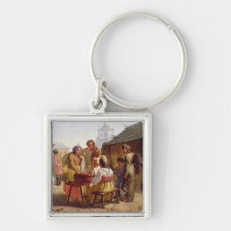 Kvas Seller, 1862 Key Chain