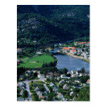 Kvinedal, Noruega en Europa Tarjeta Postal