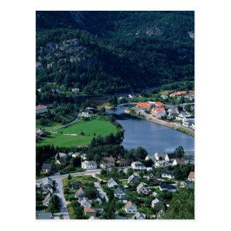 Kvinedal, Norway in Europe Postcard