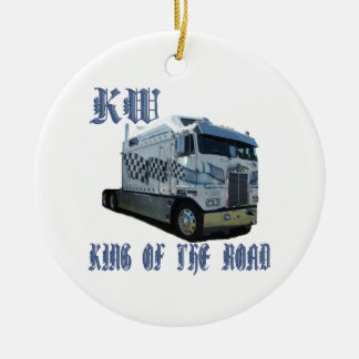 KW King of the Road Ceramic Ornament