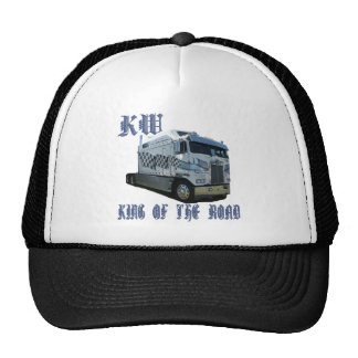 KW King of the Road Trucker Hat