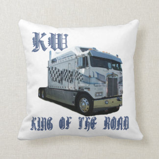 KW King of the Road Throw Pillow