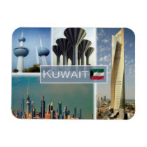 KW - Kuwait - Water Tower - Magnet