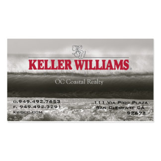 KW offshore wall Double-Sided Standard Business Cards (Pack Of 100)