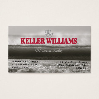 KW offshore wall Business Card