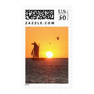 KW Sunset Postage