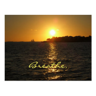 KW sunset postcard