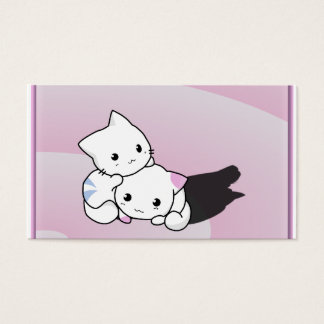 Kwaii Cats Business Card