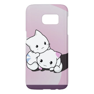 Kwaii Cats Samsung Galaxy S7 Case