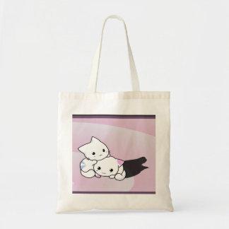Kwaii Cats Tote Bag