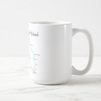 Kwajalein Atoll Marshall Islands Coffee Mugs