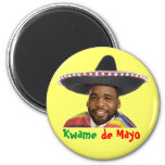 Kwame de Mayo 2 Inch Round Magnet
