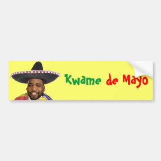Kwame de Mayo Bumper Sticker
