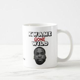 Kwame ido salvaje tazas de café