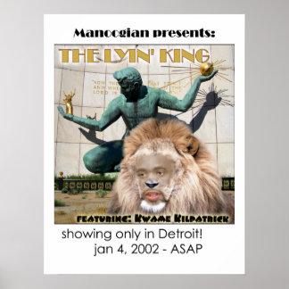 Kwame Lyin' King Poster