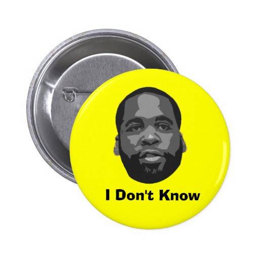 Kwame: No sé Pin Redondo 5 Cm
