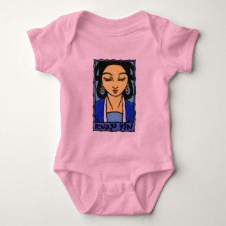 Kwan Yin Baby Bodysuit