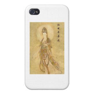 Kwan Yin la diosa de la compasión iPhone 4 Carcasas