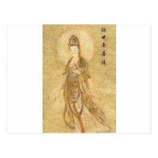 Kwan Yin la diosa de la compasión Postal