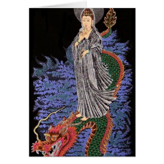 Kwan yin note card