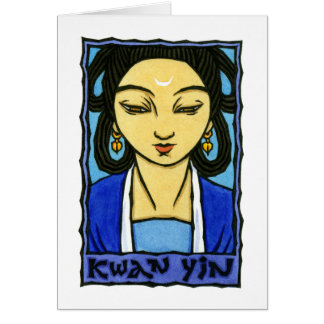 Kwan Yin Stationery Note Card